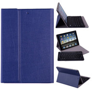 Slim Folio Kickstand Case with Removable Bluetooth Wireless Keyboard for iPad Air / Air 2 - Blue