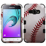 Military Grade TUFF Image Hybrid Armor Case for Samsung Galaxy Amp 2 / Express 3 / J1 (2016) - Baseball