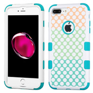 Military Grade TUFF Image Hybrid Armor Case for iPhone 8 Plus / 7 Plus - Polka Dot Trio