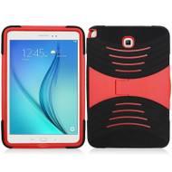 *SALE* Shockproof Armor Kickstand Case for Samsung Galaxy Tab A 8.0 - Black Red