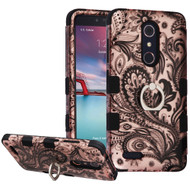 Military Grade TUFF Hybrid Case with Holder for ZTE Zmax Pro / Grand X Max 2 / Imperial Max / Max Duo 4G - Phoenix