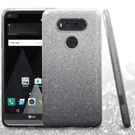 Full Glitter Hybrid Protective Case for LG V20 - Gradient Black