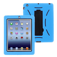 Impact Armor Hybrid Case with Integrated Screen Protector for iPad 2, iPad 3 and iPad 4th Generation - Sky Blue