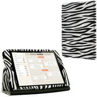 *SALE* Leather Portfolio Smart Case for iPad Mini - Zebra