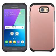 *Sale* Hybrid Multi-Layer Armor Case for Samsung Galaxy J3 (2017) / J3 Emerge / J3 Prime / Amp Prime 2 - Rose Gold