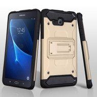 Kinetic Hybrid Armor Case with Kickstand for Samsung Galaxy Tab A 7.0 - Gold