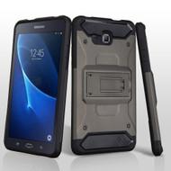 Kinetic Hybrid Armor Case with Kickstand for Samsung Galaxy Tab A 7.0 - Grey