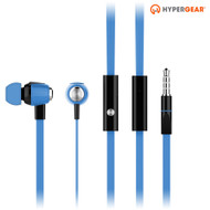 *Sale* HyperGear dBm Wave 3.5mm Stereo Earphones with Mic - Blue