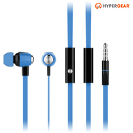 HyperGear dBm Wave 3.5mm Stereo Earphones with Mic - Blue