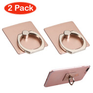 360 Degree Rotating Ring Stent - Rose Gold Twin Pack