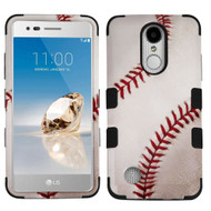 Military Grade TUFF Image Hybrid Armor Case for LG Aristo / Fortune / K8 2017 / Phoenix 3 - Baseball