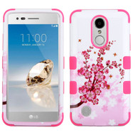 *SALE* Military Grade TUFF Image Hybrid Armor Case for LG Aristo / Fortune / K8 2017 / Phoenix 3 - Spring Flowers
