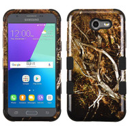 Military Grade TUFF Image Hybrid Armor Case for Samsung Galaxy J3 Emerge - Tree Camouflage