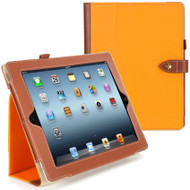Griffin Technology Back Bay Folio Case for iPad 2, iPad 3 and iPad 4th Generation - Orange Brown