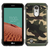 *SALE* Tough Anti-Shock Hybrid Case for LG Aristo / Fortune / K8 2017 / Phoenix 3 - Camouflage