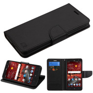 *SALE* Diary Leather Wallet Case for ZTE Grand X4 - Black