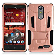 *Sale* Transformer Hybrid Armor Case with Stand for ZTE Grand X4 - Rose Gold