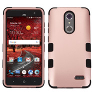 *Sale* Military Grade Certified TUFF Hybrid Armor Case for ZTE Grand X4 - Rose Gold