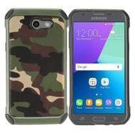 Tough Anti-Shock Hybrid Case for Samsung Galaxy J3 Emerge - Camouflage
