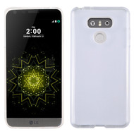 Rubberized Crystal Case for LG G6 - Clear