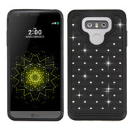 TotalDefense Diamond Hybrid Case for LG G6 - Black