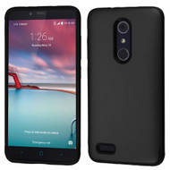 Slim Armor Multi-Layer Hybrid Case for ZTE Zmax Pro - Black