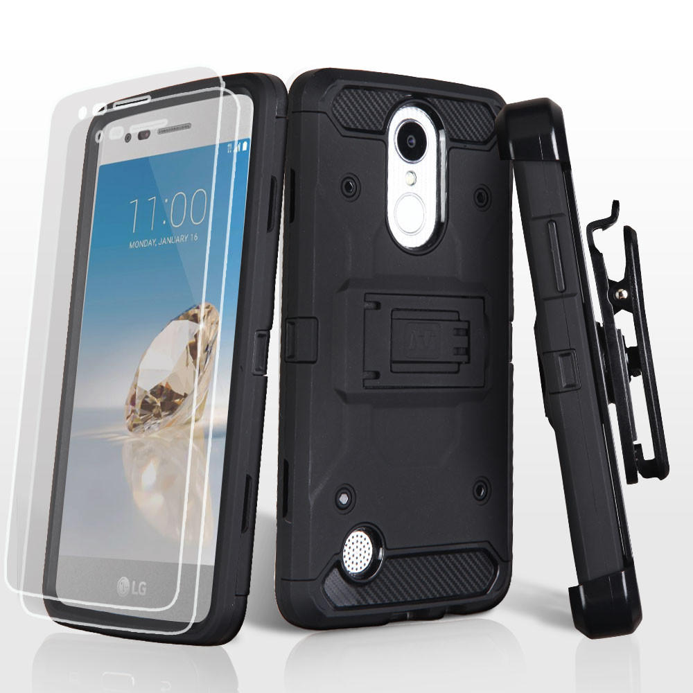 Sale Kinetic Hybrid Armor Case With Holster And Screen