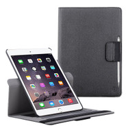 Premium 360 Degree Smart Rotating Case and Stylus Pen for iPad Pro 9.7 inch  - Black