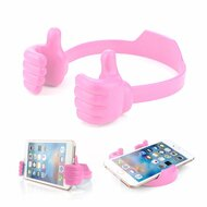 Thumbs Up Multi-Angle Desktop Smartphone Stand - Pink