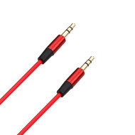 3.5mm Auxiliary Audio Cable - 4 Ft. Red
