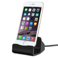 Lightning Charge and Sync Dock Stand for iPhone and iPod - Black