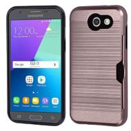 Card To Go Hybrid Case for Samsung Galaxy J3 (2017) / J3 Emerge / J3 Prime / Amp Prime 2 / Sol 2 - Rose Gold