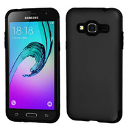Slim Armor Multi-Layer Hybrid Case for Samsung Galaxy Amp Prime / Express Prime / J3 / Sol - Black