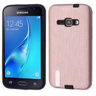 *Sale* Silk Lines Multi-Layer Hybrid Case for Samsung Galaxy Amp 2 / Express 3 / J1 (2016) - Rose Gold