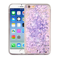 Quicksand Glitter Transparent Case for iPhone 6 / 6S - Purple