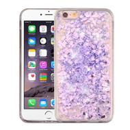 Quicksand Glitter Transparent Case for iPhone 6 Plus / 6S Plus - Purple