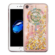 Quicksand Glitter Transparent Case for iPhone 8 / 7 - Dreamcatcher