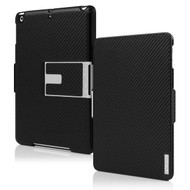 *SALE* Incipio Flagship Folio Hard Shell Executive Kickstand Case for iPad (2017) / iPad Air - Black