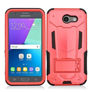 *Sale* Transformer Hybrid Armor Case for Samsung Galaxy J3 (2017) / J3 Emerge / J3 Prime / Amp Prime 2 / Sol 2 - Red