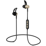 HyperGear MagBuds Bluetooth Wireless Aluminum Alloy Headphones - Gold