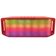 HyperGear Rave Bluetooth Wireless Speaker - Red