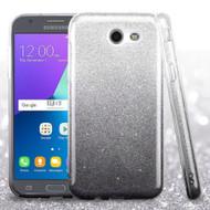 *SALE* Full Glitter Hybrid Case for Samsung Galaxy J3 (2017) / J3 Emerge / J3 Prime / Amp Prime 2 - Gradient Black