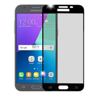 Premium Full Coverage 2.5D Tempered Glass Screen Protector for Samsung Galaxy J3 Emerge - Black