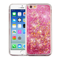 *SALE* Quicksand Glitter Transparent Case for iPhone 6 / 6S - Pink