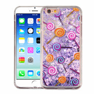 *Sale* Quicksand Glitter Transparent Case for iPhone 6 / 6S - Lollipop
