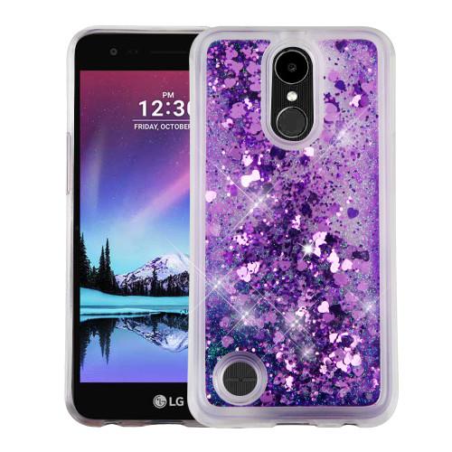 Quicksand Glitter Transparent Case For Lg K20 Plus K20 V