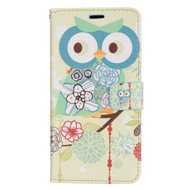 *SALE* Designer Graphic Leather Wallet Stand Case for Samsung Galaxy S8 - Owl