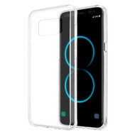 Polymer Transparent Hybrid Case for Samsung Galaxy S8 - Clear