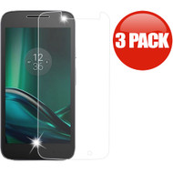 HD Premium 2.5D Round Edge Tempered Glass Screen Protector for Motorola Moto G4 Play / G Play - 3 Pack
