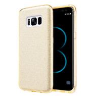 *Sale* Full Glitter Hybrid Protective Case for Samsung Galaxy S8 - Gold